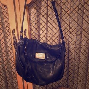 Marc Jacobs leather crossover bag!